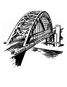 E2 tshirt BRIDGE clipart