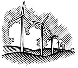E2 tshirt alternate windmill ONE clipart